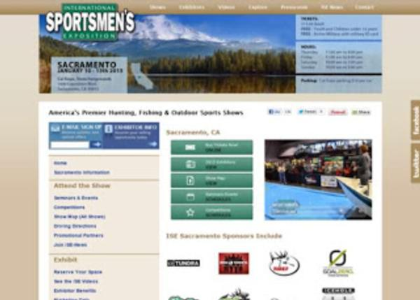 Press Release: 2013 International Sportsman's Expo Sacramento