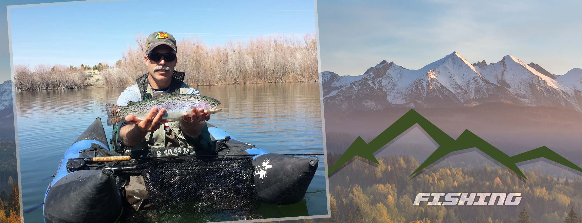 Central Nevada Fly Fishing Trips, Guide Service, Lodging - Private Lake Float for Trout